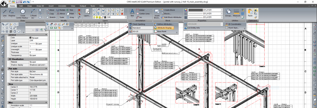 CMS IntelliCAD 8.2 Premium CAD Software Released